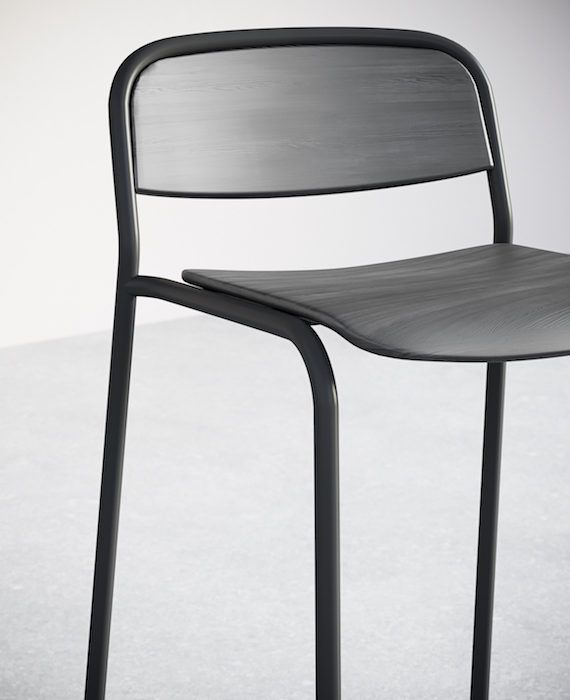 11-4. Edge Bar Chair. Detail