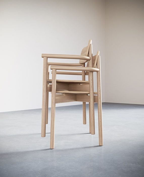 2-1. Jasny Arm Chair.Stacking