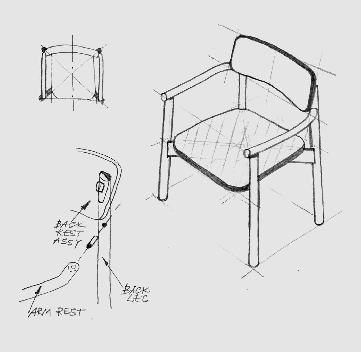 Jasny Armchair Upholstered Scheme
