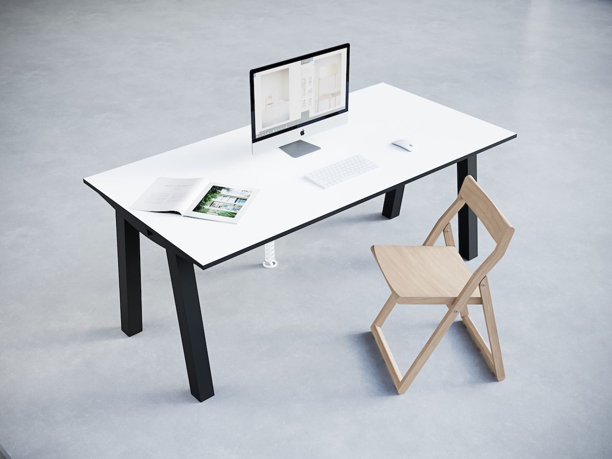 1-4.Dove Desk. Chairs&Objects