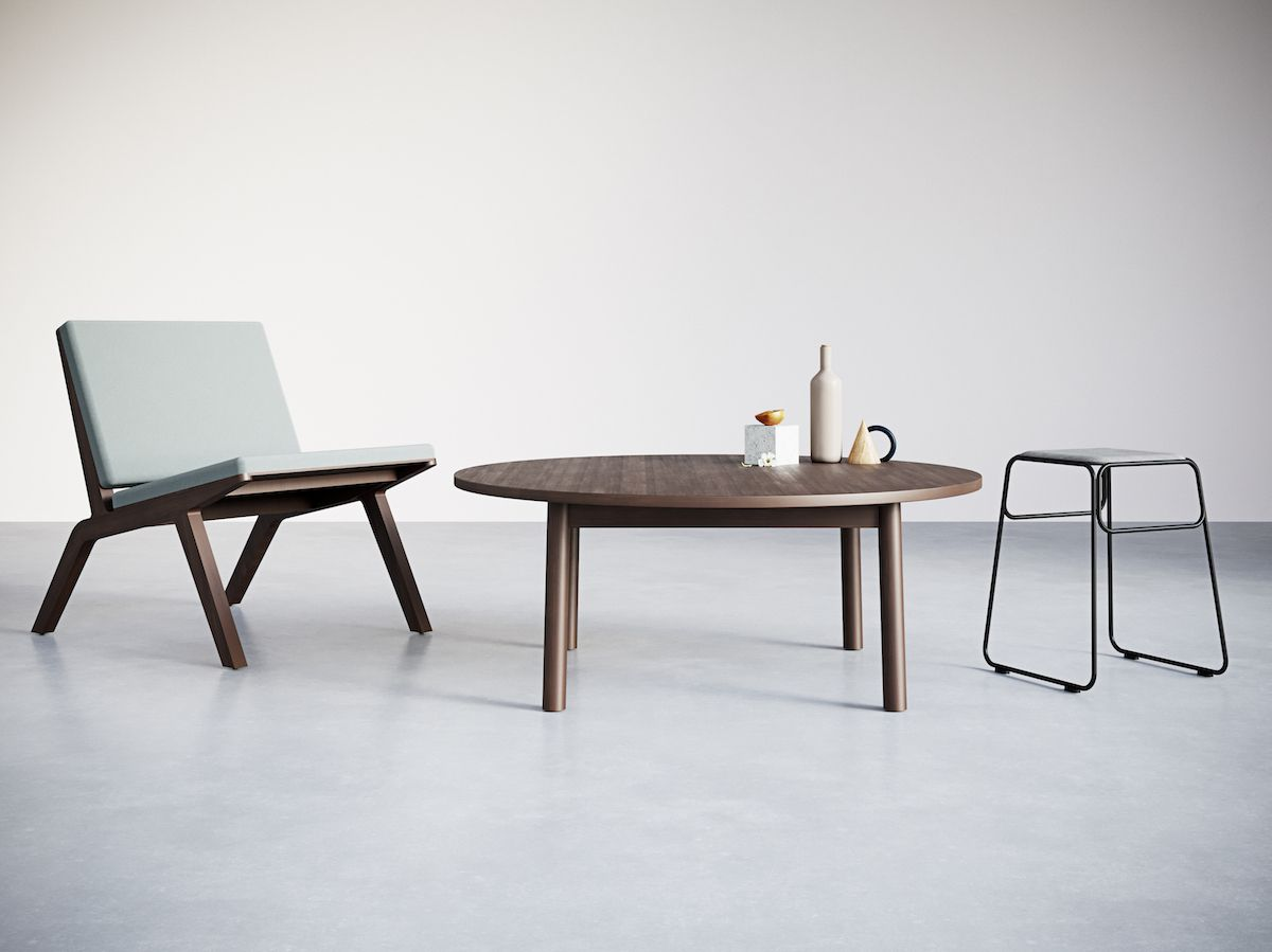 4-2. Round Coffee Table. Chairs&Objects