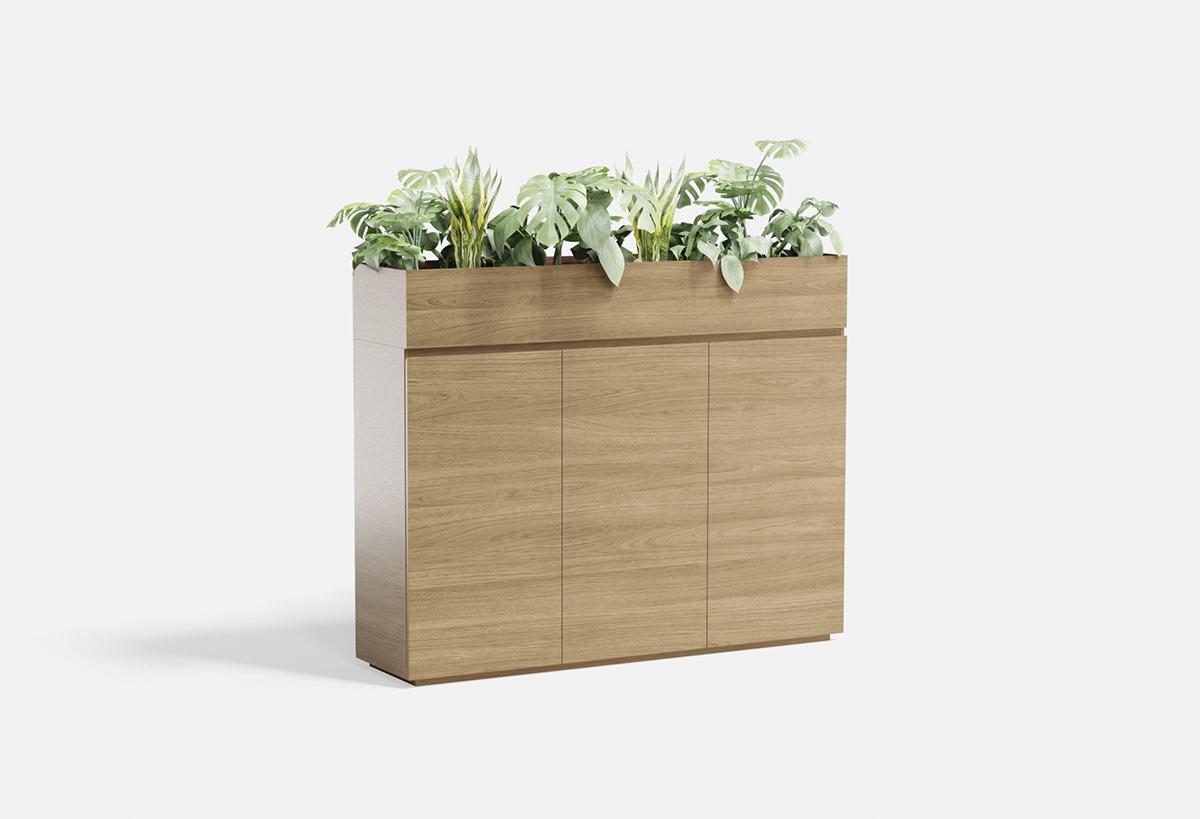 Kura Midboard Planter 3e